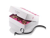 Krásná krabička obsahuje 396 g výborné a kvalitní čokolády , mix Juliette pro chvíle potěšení.