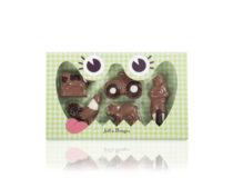 čokoládová bonbonierka farma, lahodná a kvalitní čokoláda