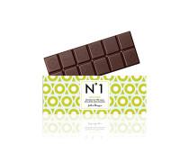 Hořká čokoláda z Pobřeží Slonoviny se 70% obsahem kakaové sušiny , silná a jemná zároveň, zanechá na jazyku lehký tón kyselosti zeleného jablka , kakao z programu QQP.
