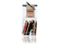 Sáček obsahuje 170 g mix našich lámaných čokolád vyráběných ve Francii. Ideální dárek pokud nevíte, který druh zvolit.