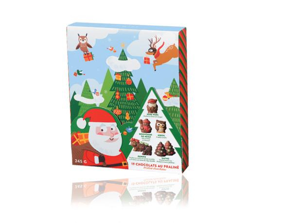 Úchvatné čokoládové figurky , různé receptury: kousky nugátu, crêpe dentelle, lískooříšková náplň, praskající cukr. Výborné receptury v jedné krabičce.