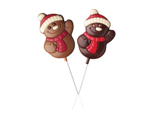 Mikuláš, medvídek, sněhulák ...přijďte si vybrat z široké nabídky mléčných a hořkých čokolád