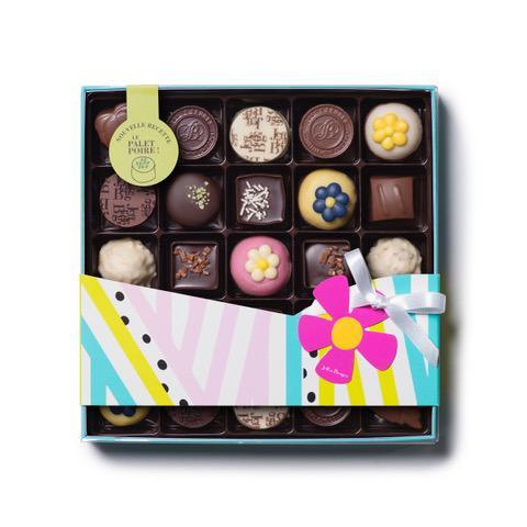 Oslavte nejhezčí období roku naší jarní krabičkou obsahující 25 ks výborných čokoládových bonbonů , mezi nimi i marcipán ve tvaru kytky nebo hrušková paletka.