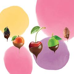 Ovoce a Čokoláda
